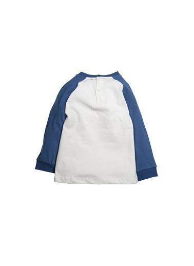 Zeyland Arkası Çıtçıtlı ıki Renk Sweatshirt (9ay-4yaş) Arkası Çıtçıtlı ıki Renk Sweatshirt (9ay-4yaş) Ekru